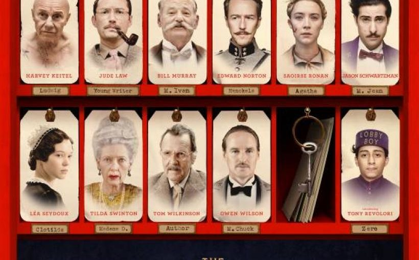 """The Grand Budapest Hotel"" di Wes Anderson"