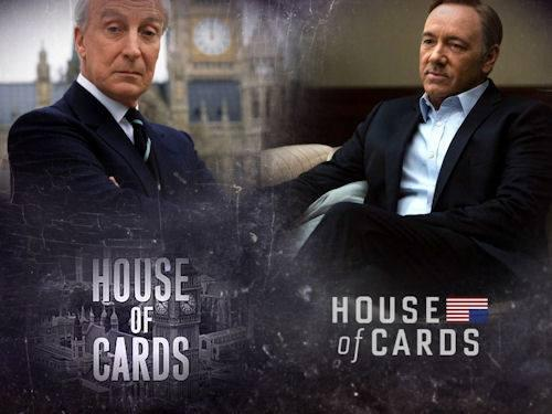 Serie Usa vs Eu: House of Cards Usa vs Uk