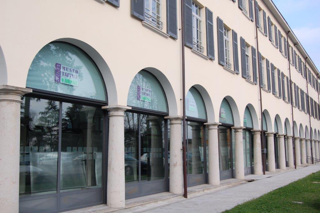 web Villa Baragiola - sede del Museo Tattile Varese