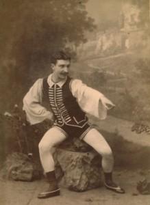 NicolaGuerra nel balletto Pietro Micca