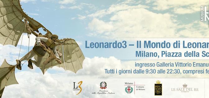 Leonardo 3D – I mille sogni e volti di un uomo geniale