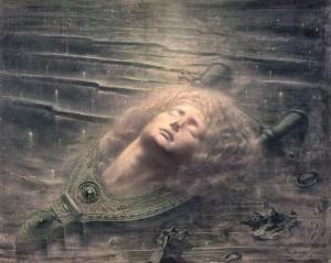 """""""Orfeo Morto"""" di Jean Delville"""