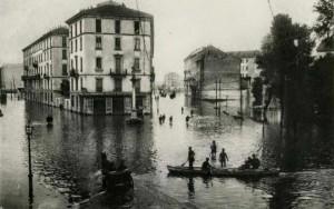 piazza de angeli inondazione