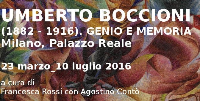 Umberto Boccioni – Mostra a Palazzo Reale