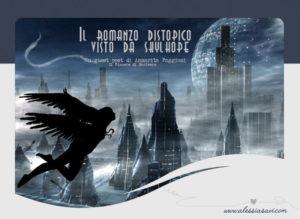 """Illustrazione di copertia del romanzo """"L'ombra di Lyamnay"""" realizzato e ideato da Alessia Savi."""