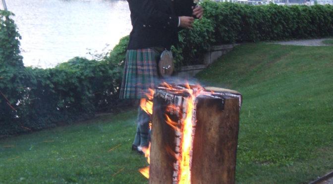 Como celebra il patrono della Scozia St. Andrew