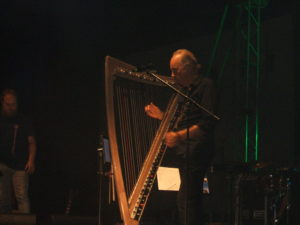 Alan Stivell all'arpa