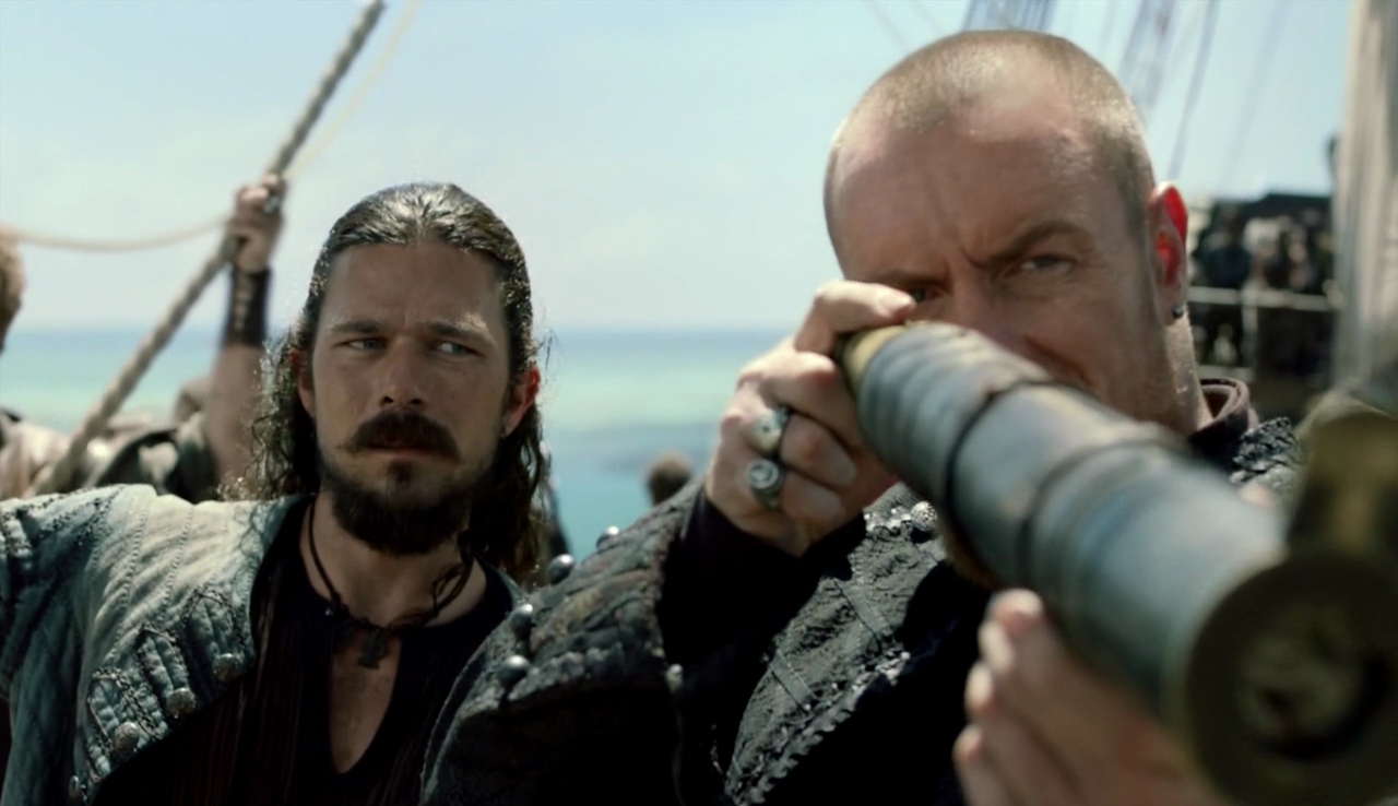 Black Sails Flint e Silver