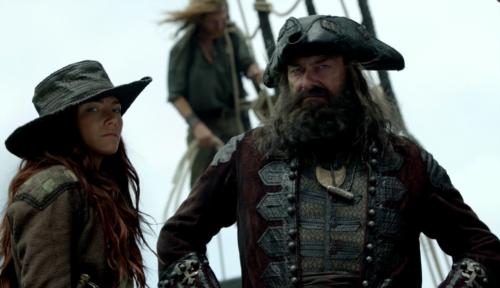 Black Sails Anne e Teach