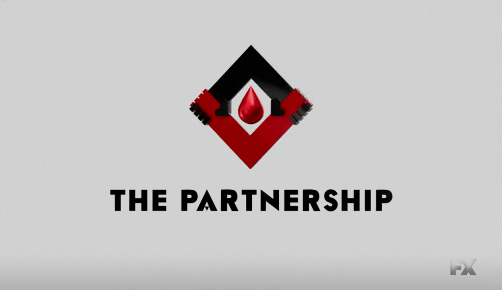 The partnership logo the strain