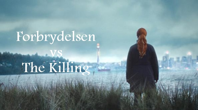 Serie tv Eu Vs Usa: Forbrydelsen vs The Killing