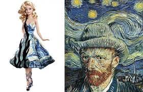 Barbie ispirata ai Girasoli di Van Gogh