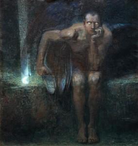 """""""Luzifer"""" di Franz von Stuck"""