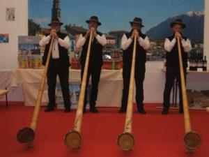 i tipici Alpenhorn